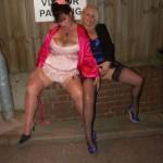 Kim and Carol in Colchester